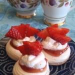 Julio's Strawberry Puffs